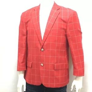 Other - PAUL FREDERICK Men's Sport Jacket 43S Red/White